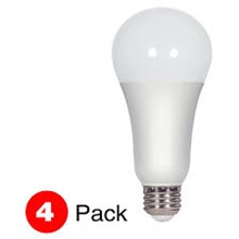 100W Equivalent LED A21 Lamp, Non-Dimmable, 4-Pack SSLSAT-16A21-4PK-ND
