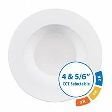 LED Color Select Recessed Retrofit Fixture, White SSLNIC-DLR