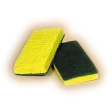 Sponge with Scrub Pad SSJPAD-174