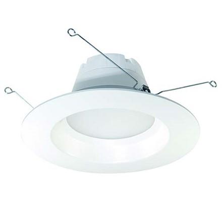 """12W LED 6"""" Recessed Retrofit Fixture, White SSLHAL-LED-DL6FR12"""