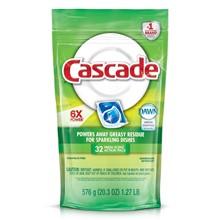 Cascade® ActionPacs™ Fresh Scent w/Dawn (Case) SSCPGC-14389